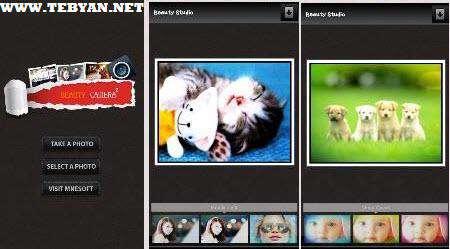 رتوش تصاویر نسخه اندروید، Beauty Camera v1.35