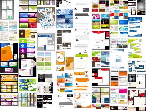 مجموعه تصاویر وکتوری Business Card Corporate