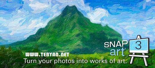 پلاگین تبدیل عکس به نقاشی در فتوشاپ، Alien Skin Snap Art 3.0.0.746