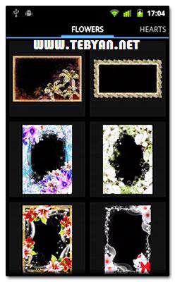 قاب های زیبا برای تصاویر نسخه اندروید، Photo Frame Pro v1.1