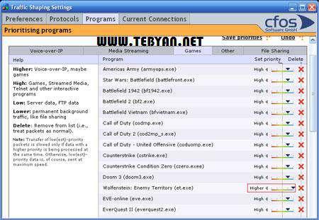 نمایش و افزایش سرعت اینترنت، cFosSpeed 8.02 Build 1972 Final