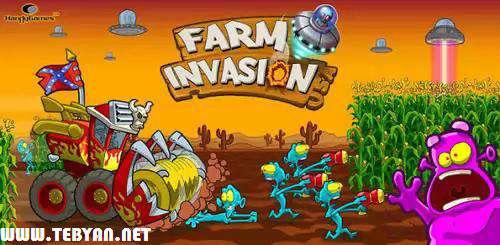 بازی حمله به مزرعه ذرت نسخه اندروید، Farm Invasion v1.0.2
