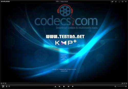 پلیر قدرتمند فایل های صوتی و تصویری + پرتابل، KMPlayer 3.4.0.55 Final