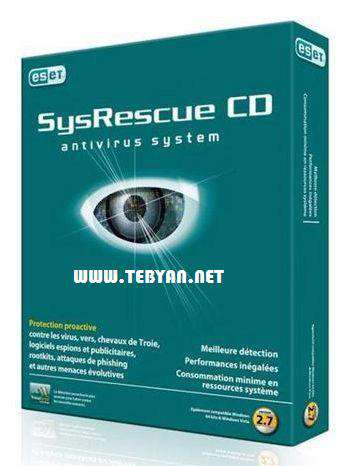 دیسك نجات نود 32، ESET SysRescue CD 2012.05.01