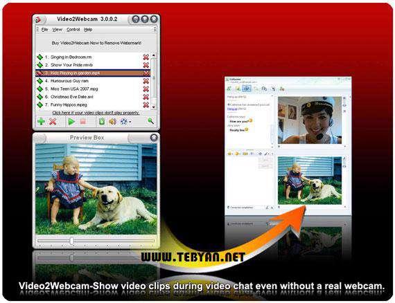 وب كم مجازی، Video2Webcam 3.3.2.2