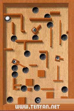 بازی مهیج هدایت  گوی نسخه اندروید، ۱٫۵٫۲ aTilt 3D Labyrinth