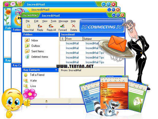 ارسال و مدیریت ایمیل، Incredimail 2 Premium 6.29 Build 5203