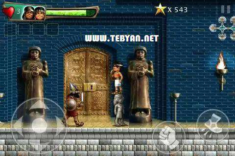 بازی فکری ۱٫۴٫۱ Babylonian Twins Platformer نسخه اندروید