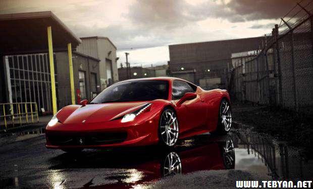 60 تصویر فوق العاده زیبا و با کیفیت بسیار بالا از خودروی محبوب فراری، Ferrari Wallpaper Pack