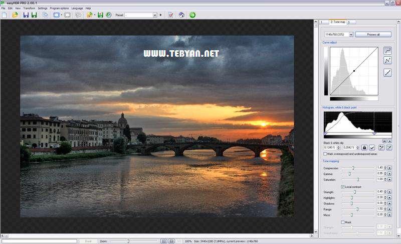 ویرایش و خلق تصاویر فوق العاده، easyHDR PRO 2.30.1