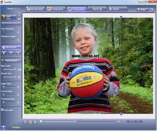 ویرایش و ترکیب تصاویر، FotoMix 9.0