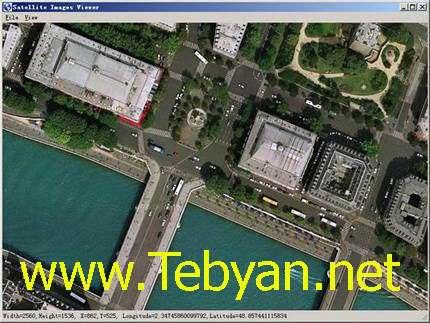 ذخیره نقشه های ماهواره ای گوگل، Google Maps Downloader 6.72