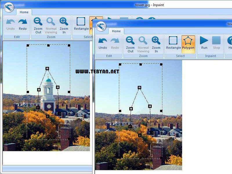 حذف و جداسازی اجسام در تصاویر + پرتابل، Teorex Inpaint 4.5