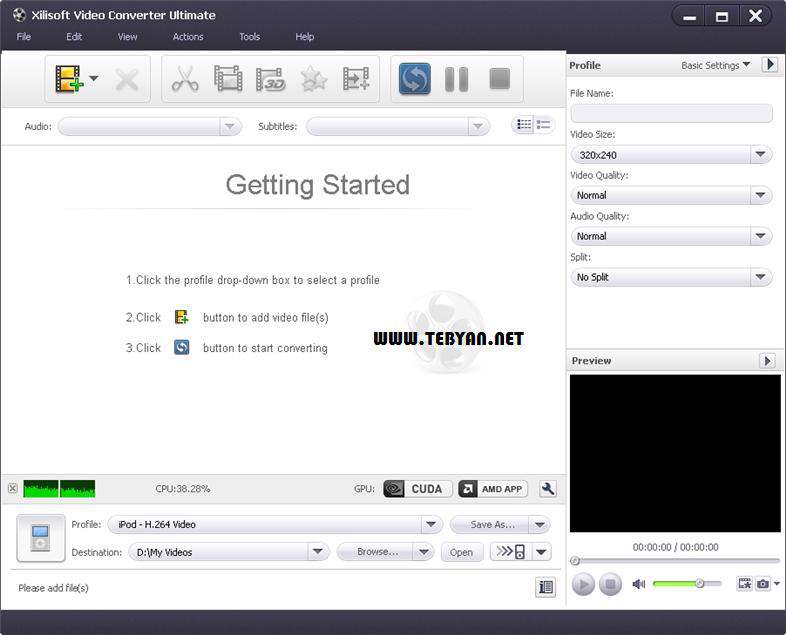 مبدل قدرتمند فایل های ویدیویی، Xilisoft Video Converter Ultimate 7.5.0