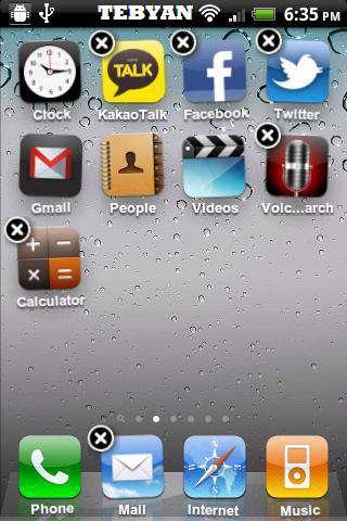 تبدیل گوشی اندروید به آیفون، iLauncher 2.1.5