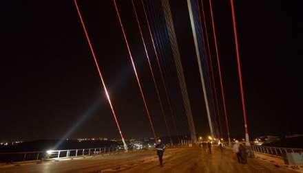 طولانی ترین پل کابلی در روسیه افتتاح شد