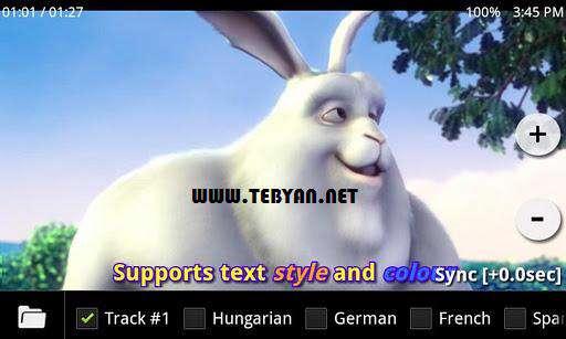 پخش قدرتمند فیلم نسخه اندروید، MX Player Pro 1.6j