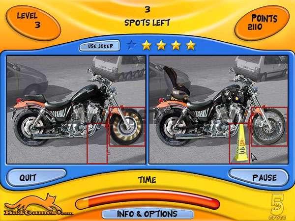 بازی زیبای اختلاف تصاویر 5Spots 1.0