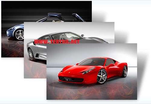 پوسته (تم) خودروی محبوب فراری برای ویندوز7، Ferrari Win 7 Theme