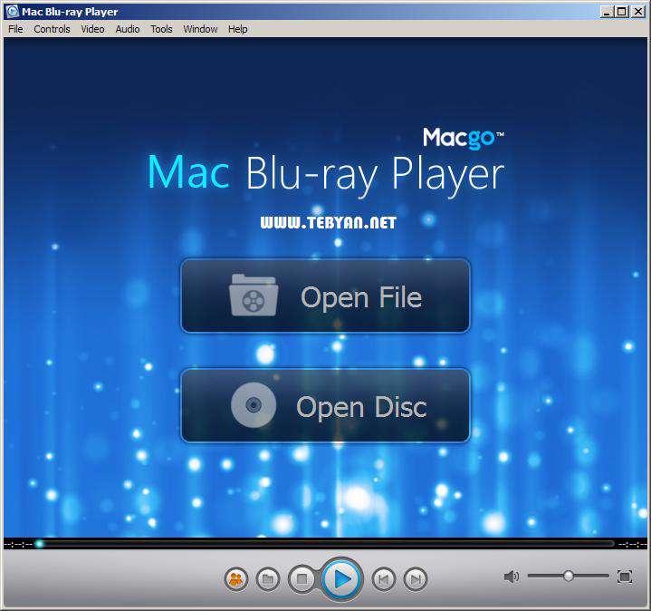 پلیر قدرتمند لوح فشرده، Mac Blu-ray Player 2.3.2.0894