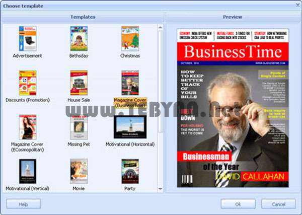 طراحی و ساخت پوستر، RonyaSoft Poster Designer 2.01.48