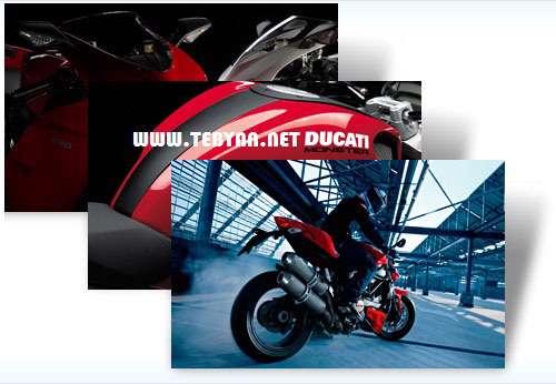 پوسته (تم) جذاب موتورسیکلت برای ویندوز7،  Ducati Win 7 Theme