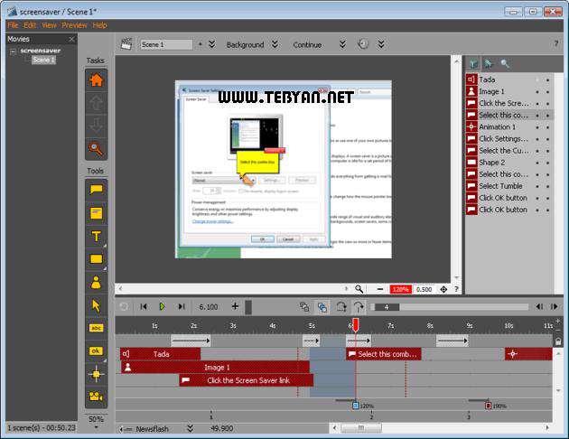 ایجاد فیلم های آموزشی، Tanida Demo Builder 9.0.0.7