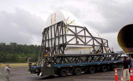 شاتل فضایی رسما به موزه سیاتل منتقل شد