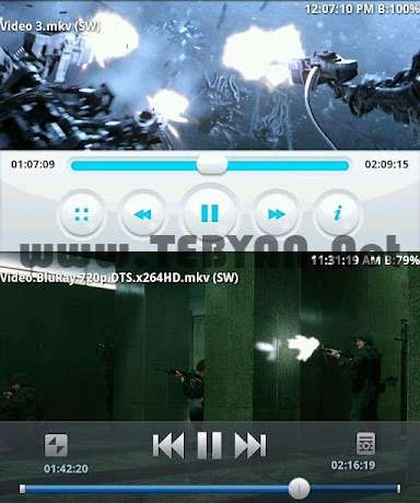 ویدیو پلیر قدرتمند نسخه اندروید، BSPlayer FULL v1.3.127