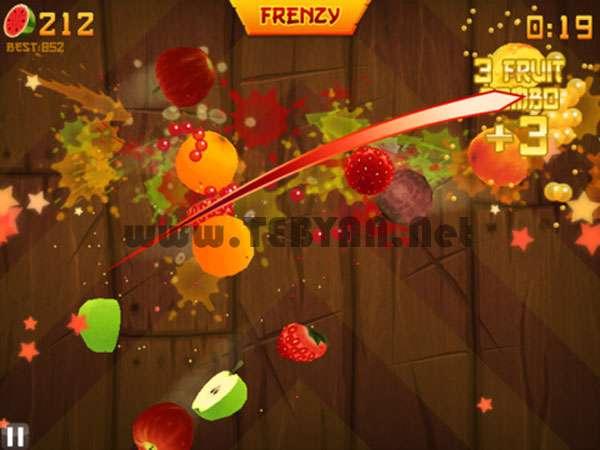 بازی نینجای میوه نسخه اندروید، Fruit Ninja v1.7.6