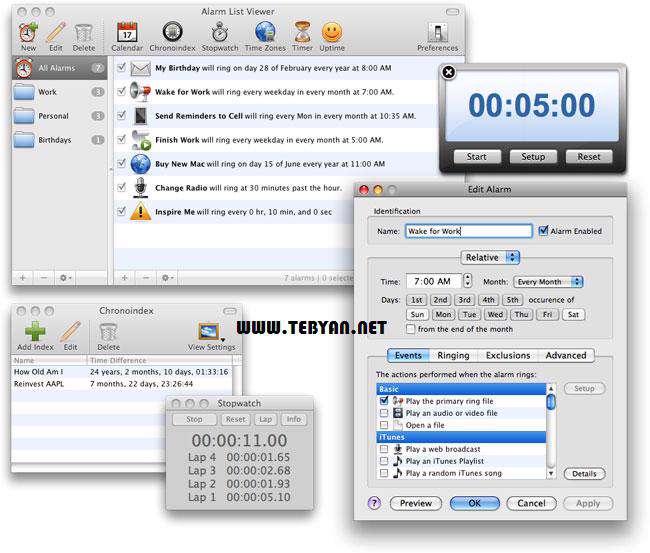 ساعت هشدار دهنده، Alarm Clock Pro 9.4.7