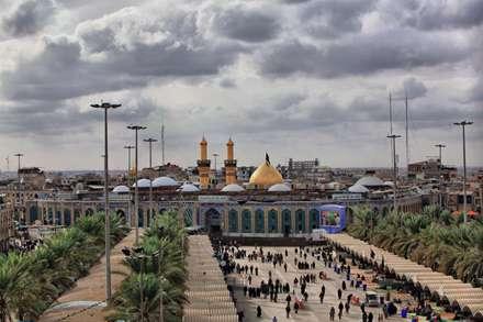 تصویر، image، عکس، کربلا، عتبات عالیات، حرم امام حسین، نما، بین الحرمین