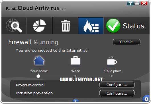 آنتی ویروس رایگان پاندا، Panda Cloud Antivirus 2.0