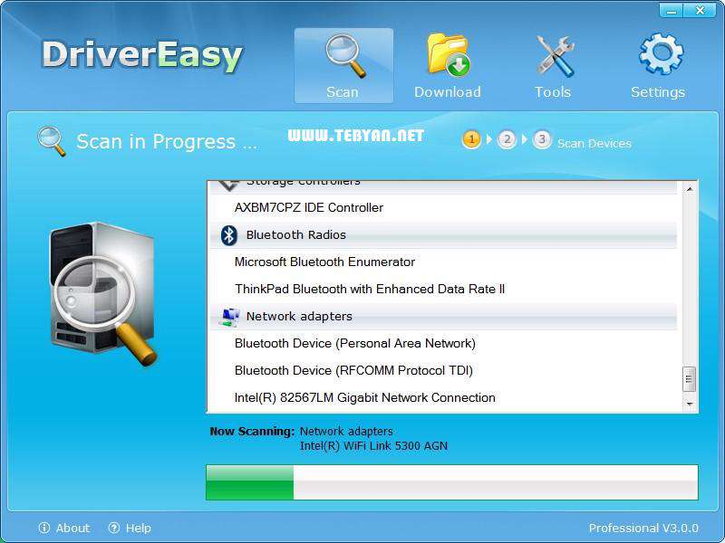 آپدیت آسان درایورها + پرتابل، DriverEasy Pro 4.1.1.32690