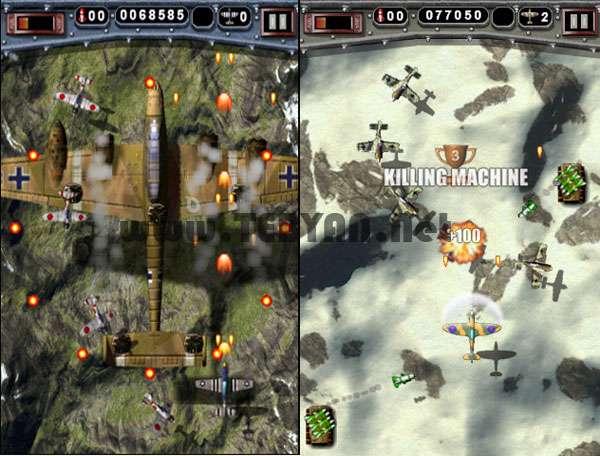 بازی جنگ هوایی نسخه اندروید، Mortal Skies 2 v1.1