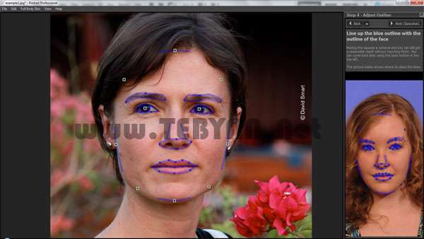 روتوش تصاویر چهره، Anthropics Portrait Professional 10.9.5