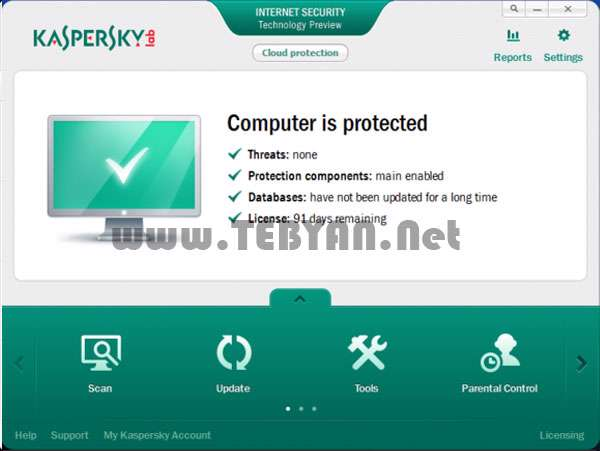 بسته امنیتی کاسپراسکای 2013، Kaspersky Internet Security 2013 13.0.0.3370