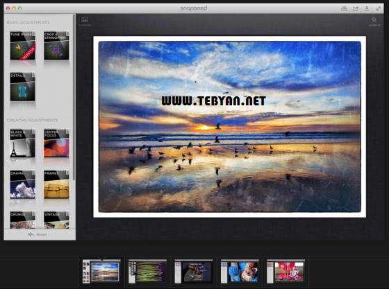 ویرایش تصاویر، Nik Software Snapseed 1.2.0
