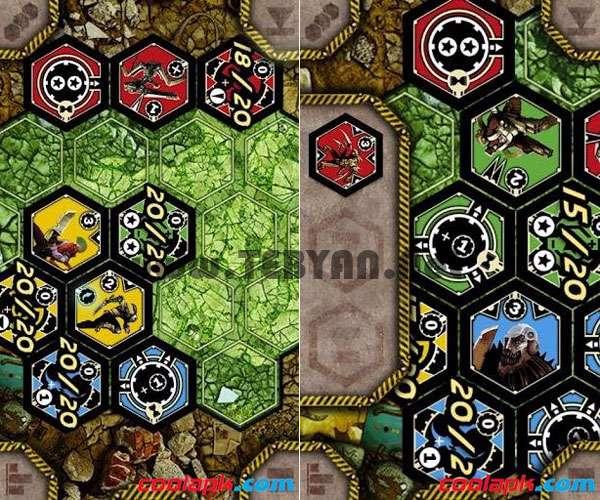 بازی استراتژیک Neuroshima Hex 1.2 نسخه اندروید