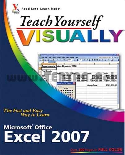 کتاب آموزش تصویری اکسل 2007
