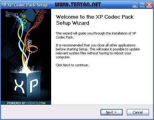 کدک ویندوز ایکس پی، XP Codec Pack 2.5.3