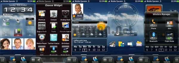 تغییر ظاهر تم موبایل نوکیا SPB Mobile Shell Normal v3.8 نسخه 3 و 5