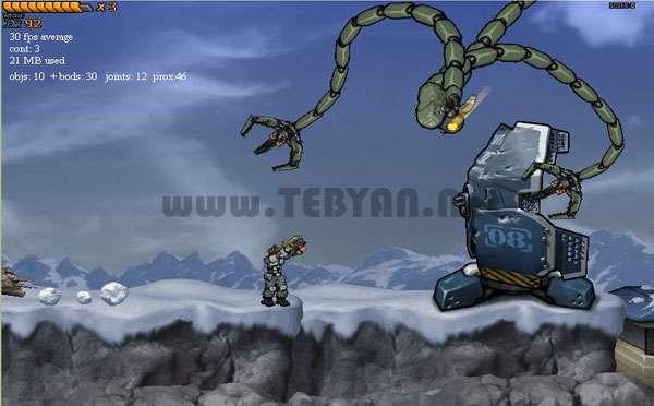 بازی جنگ در سیاره ناشناخته، Intrusion 2 v1.0