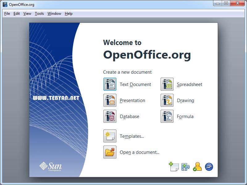 دانلود برنامه آفیس قدرتمند و رایگان، OpenOffice 4.1.13 Final