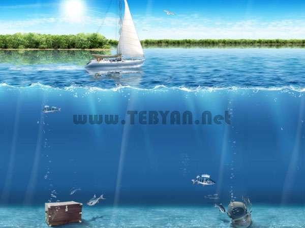 محافظ صفحه نمایش و کاغذدیواری متحرک اقیانوس، Beauty Of Ocean ScreenSaver