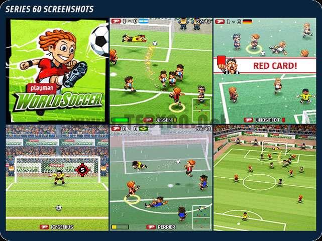 بازی فوتبال فانتزی نسخه جاوا، 3D Playman World Soccer