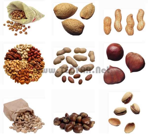 تصاویر استوک با موضوع آجیل، Nuts
