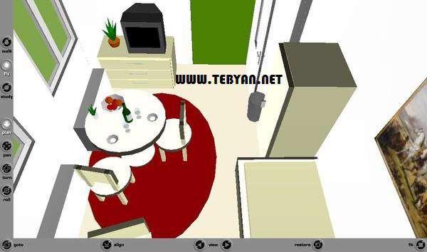 طراحی دکوراسیون منزل + پرتابل، Room Arranger 7.1.0.290
