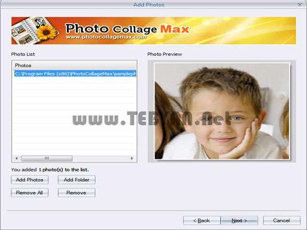 قرار دادن قاب و فریم گذاری بر روی تصاویر + پرتابل، Photo Collage Max 2.1.4.8