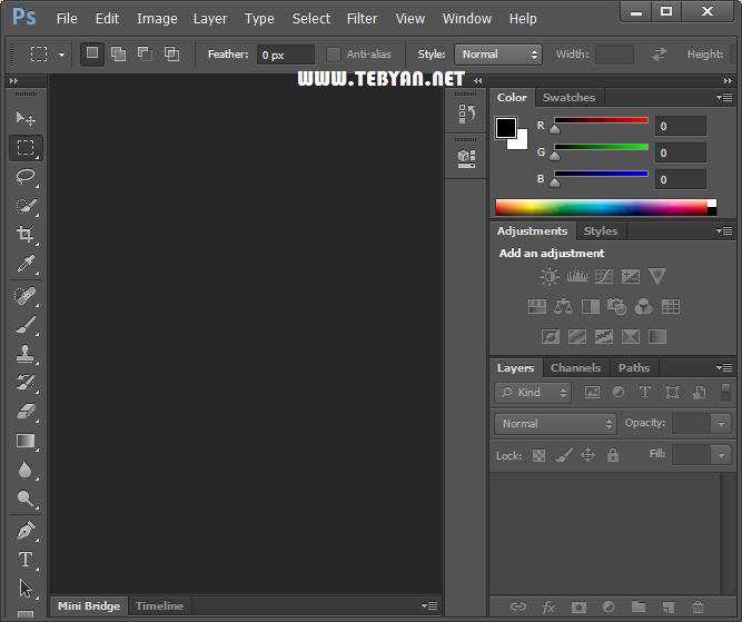 فتوشاپ CS5 پرتابل، Adobe Photoshop CS5 12.0